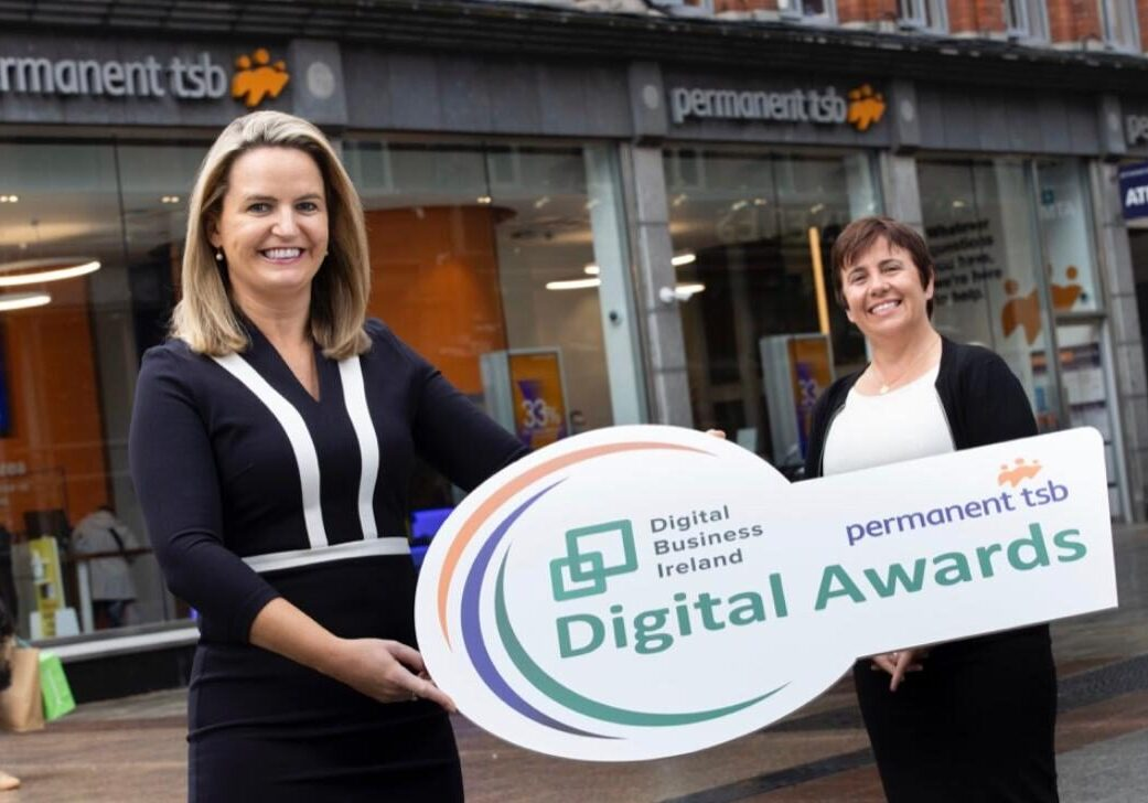 Lorraine Higgins, Chief Executive of Digital Business Ireland with Mags Brennan, Head of Business Banking at permanent tsb